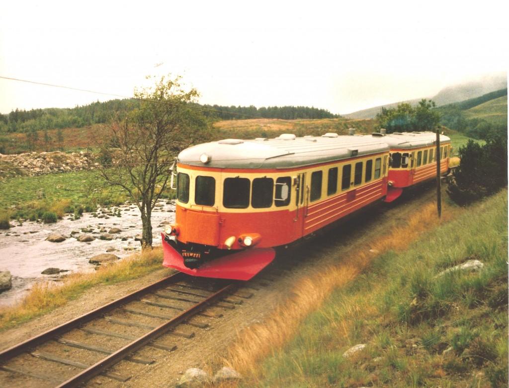 Bm 89 motorvogner vest for Kalberghølen 1983