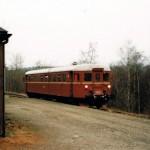 Bråstein stoppested 1998 (Foto: Einar Undal)