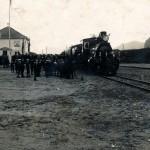 Åpningstoget til Ålgård 20. desember 1924