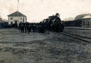 Åpningstoget til Ålgård 21. desember 1924