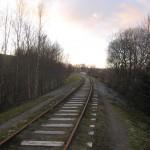 Linjen mellom Vagle og Holane sett mot Ganddal
