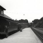 Tog til Ålgård på Stavanger stasjon ca. 1930.