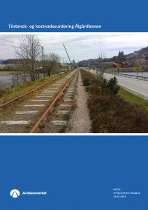 Jernbaneverkets tilstands- og kostnadsanalyse fra 2012 (illustrasjon)