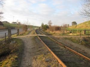 Ålgårdbanen mellom Foss-Eikeland og Vagle
