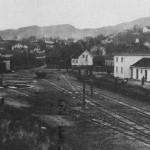 Ålgård stasjon - 1924